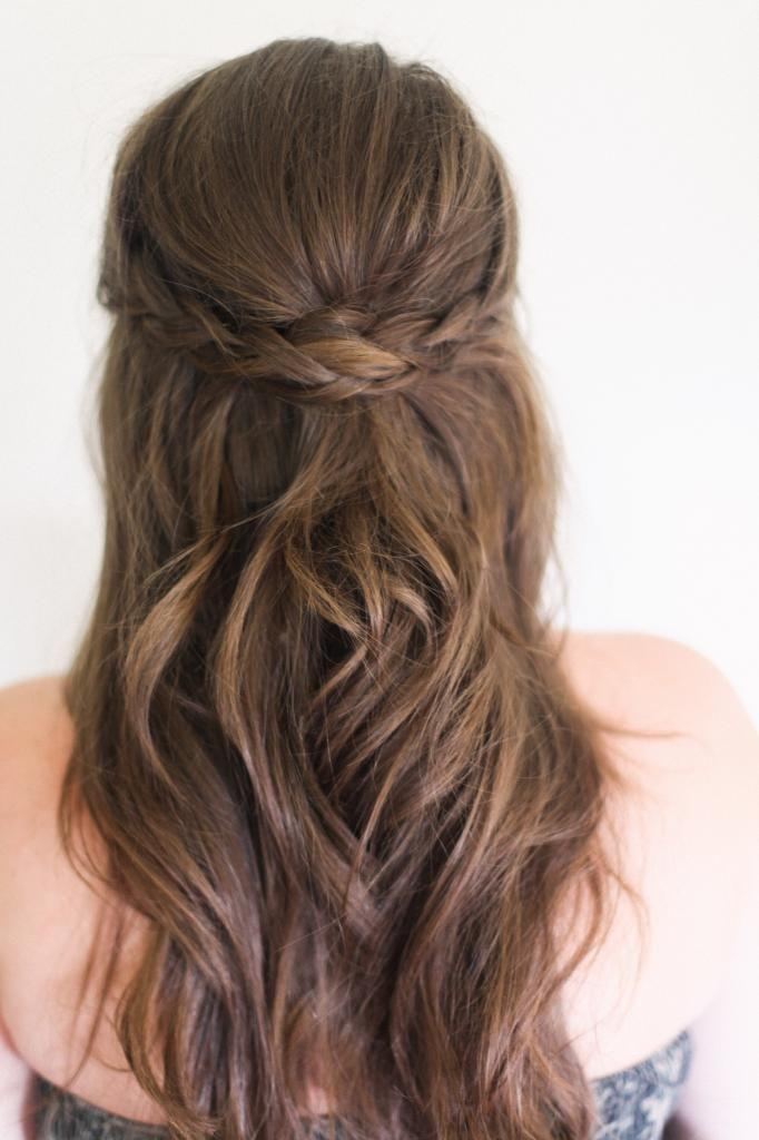 Hochzeit - 13 Simple Braided Hairstyles For Beginners