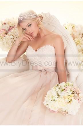 Mariage - Essense of Australia Wedding Dress Style D1702 (Include:Crown Veil Gloves Petticoats)