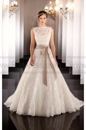 martina liana wedding dress style 437 (include:crown veil gloves