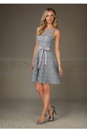 زفاف - Mori Lee Bridesmaids Dress Style 31076 (Include:Crown)