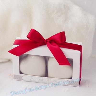 Mariage - 创意陶瓷小礼品 爱心调味瓶TC023结婚新娘回赠小礼品 创意回礼