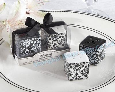 Wedding - 婚礼小礼物 欧美爆款结婚喜庆用品TC020新郎新娘陶瓷胡椒罐