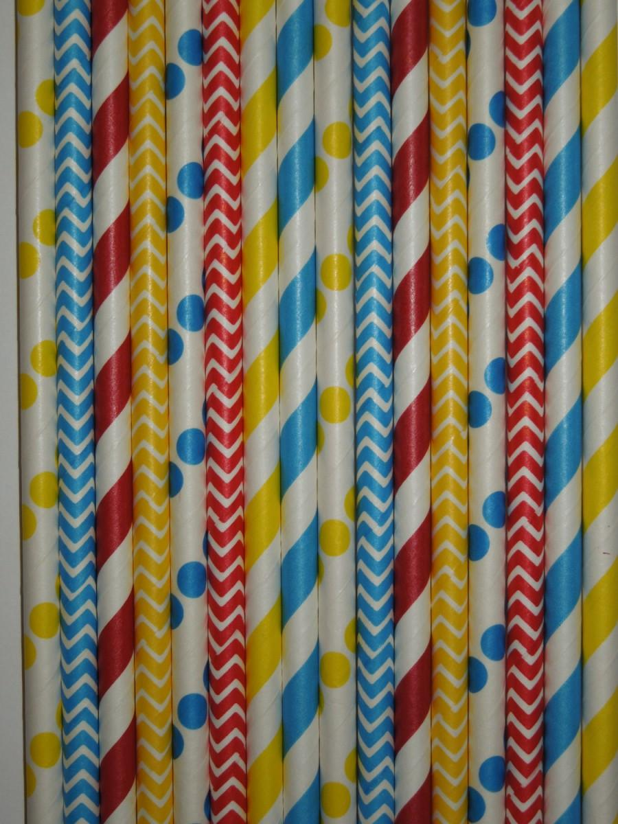 50 Circus Carnival Theme Party Paper Straws Circus Birthday Clown Birthday Carousel Party Boy Superhero Birthday Carnival Mason Jar Straws 2472806 Weddbook