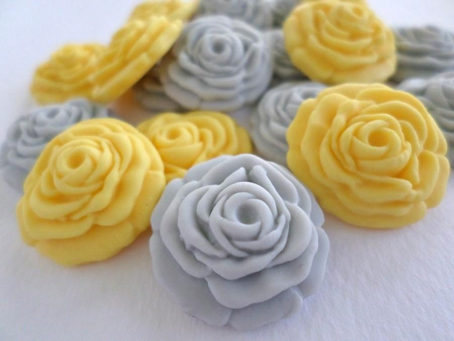 Sugar Flower Edible Rose Fondant Gumpaste Cake Cupcake Wedding ...
