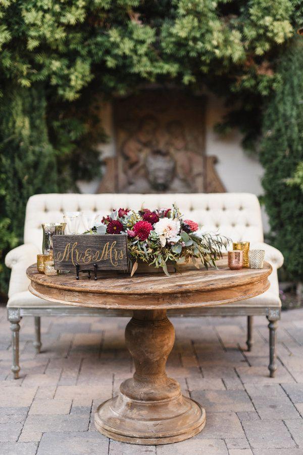 Hochzeit - Rich   Romantic San Juan Capistrano Fall Wedding