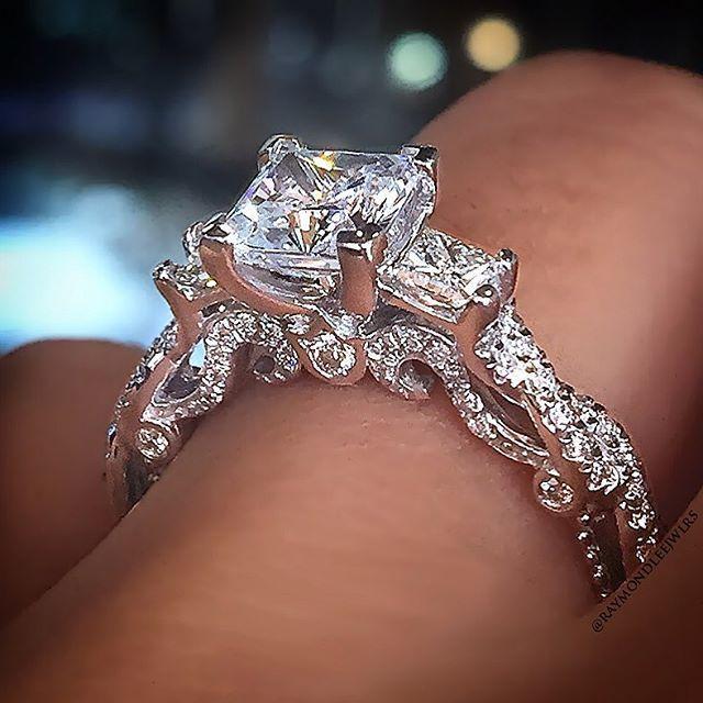 Mariage - Top 10 Princess Cut Engagement Rings