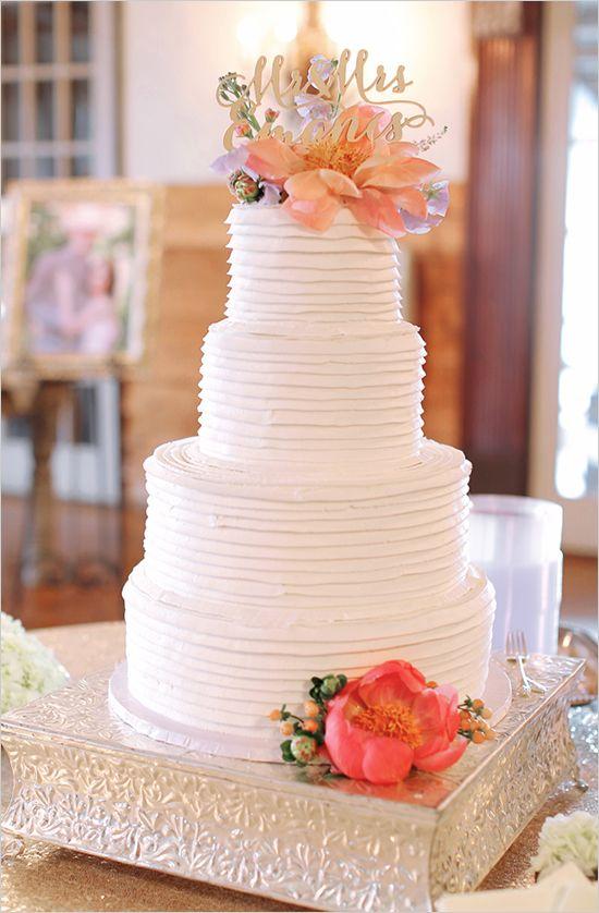 Cake - Shabby Chic Country Wedding #2473040 - Weddbook