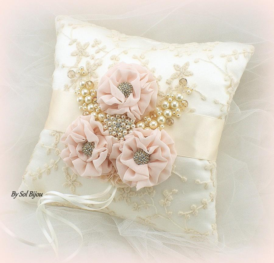 Lace Blush Pink And Gold Color
