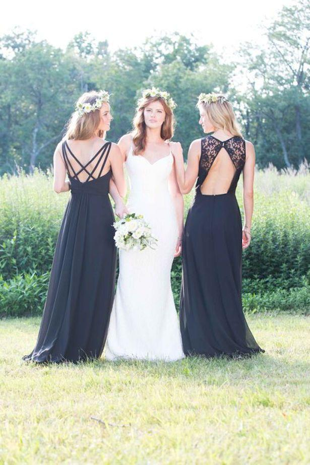 Hochzeit - Trendy Bridesmaid Dresses By Bari Jay