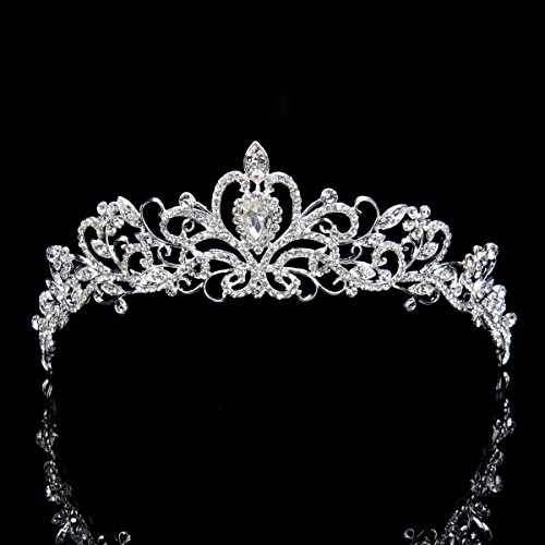 Свадьба - Crystal Bridal Tiara