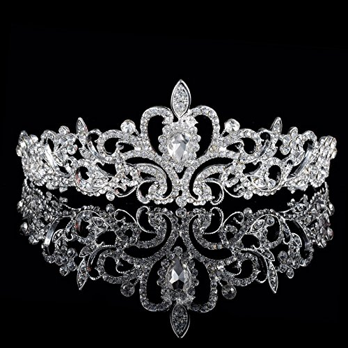 زفاف - Crystal Hair Tiara Crown for Wedding