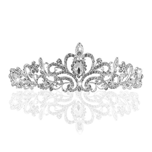 Свадьба - Crystal Bridal Tiara
