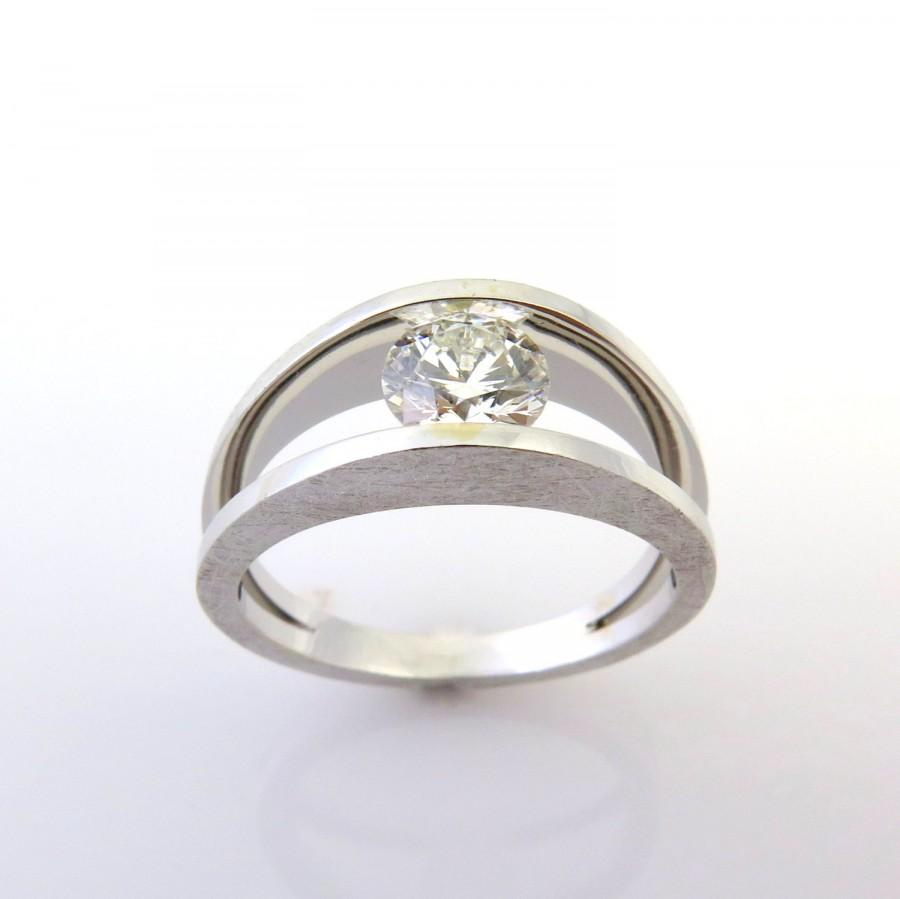 angle e contemporary zadok rings gabrielle engagement shop artcarved ring jewellery diamond wedding