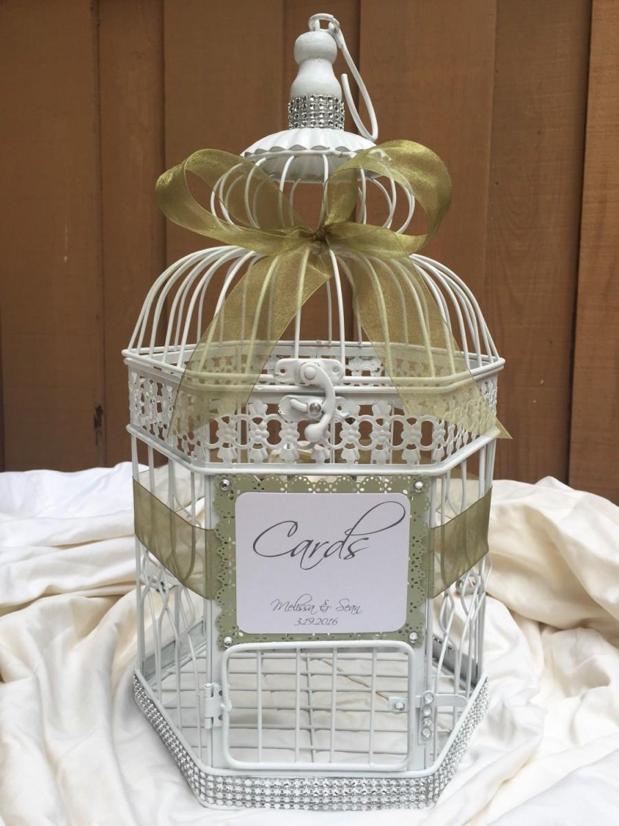 Decor Wedding Birdcage Card Holder 2473532 Weddbook