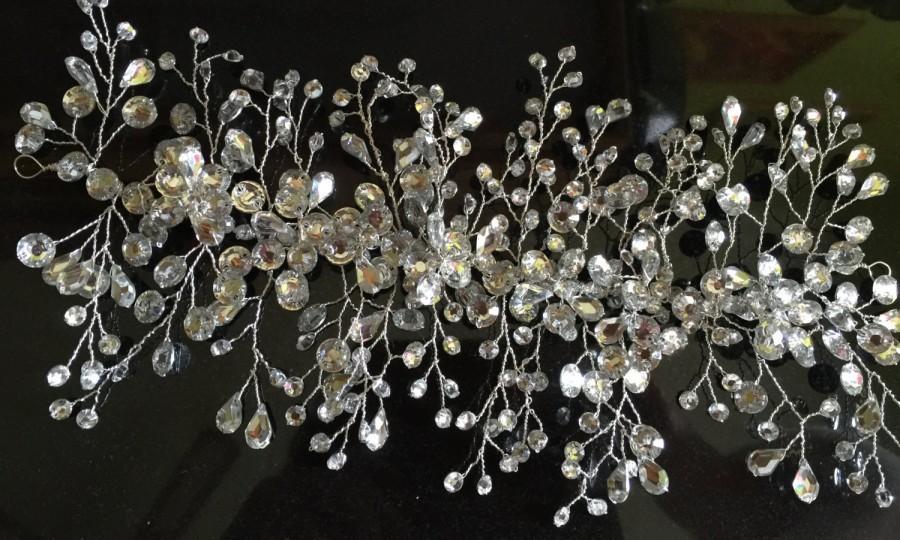 زفاف - Rhinestone Bridal Headdress