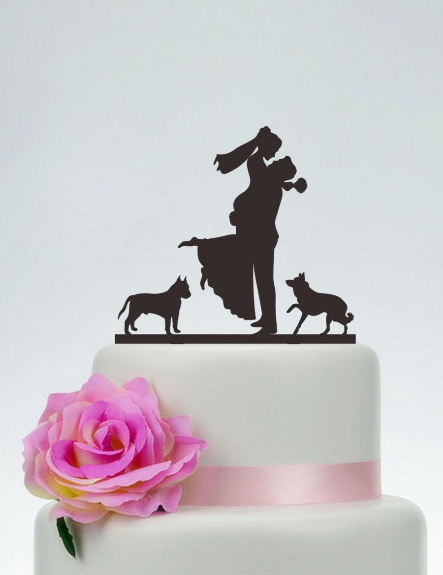 Wedding Cake Topper,Couple Silhouette,Bride And Groom Cake Topper ...