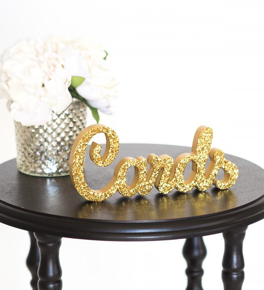 Cards sign for wedding gift table freestanding cards wooden cards sign for wedding gift table freestanding cards wooden wedding sign for reception decorations item tca100 negle Images