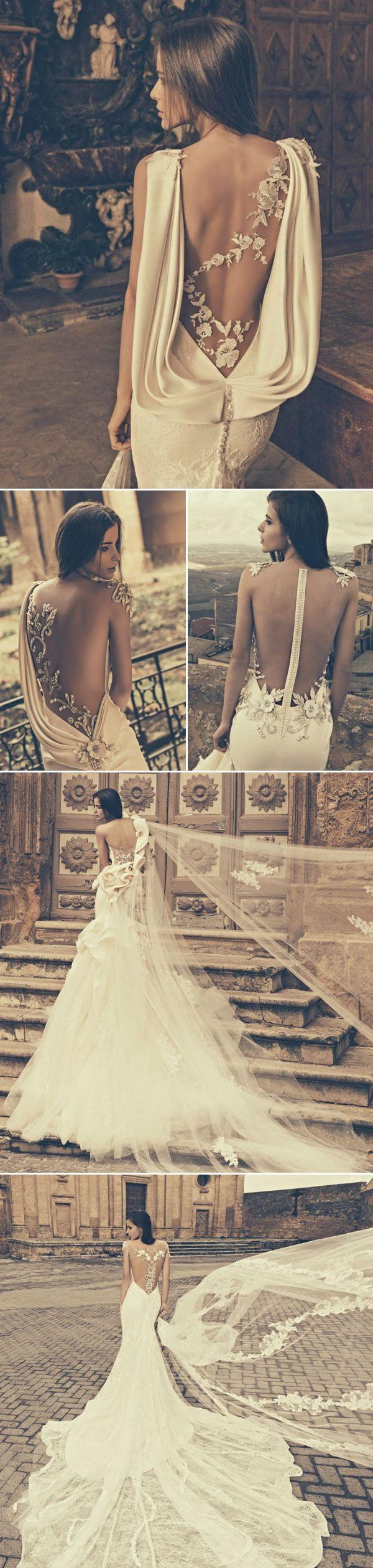 Mariage - 27 Wedding Dresses With Stunning Back Details From 2015 Bridal Market