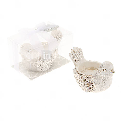 Wedding - [$3.99] Retro Handicraft Bird Shape Candle Holder© Beter Gifts