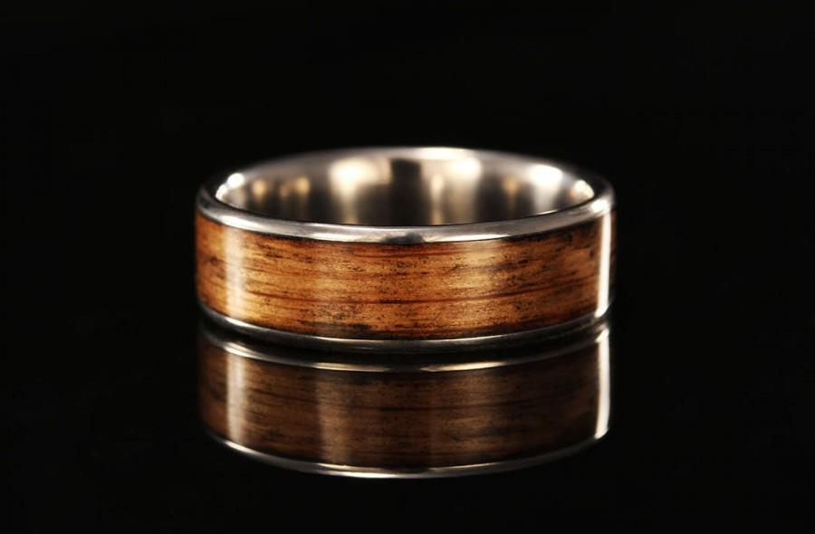 زفاف - Jack Daniel's Whiskey Barrel Titanium Ring