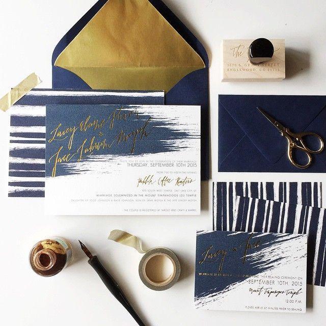 Mariage - Foil & Ink