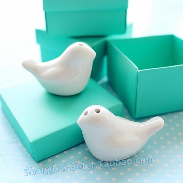 Mariage - présent de noces TC007 LOVE Birds Salt and Pepper Shakers