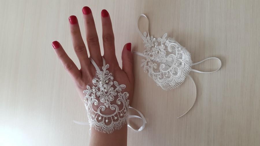 Wedding - bridal gloves