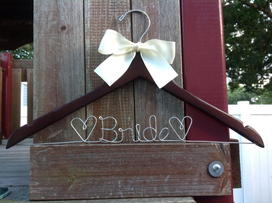 Wedding - Personalized Wedding Hanger / Brides Hanger/SHIPS FROM USA