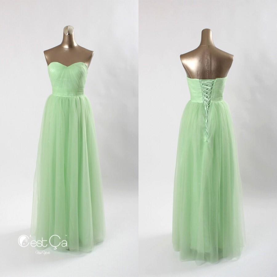 Mariage - Aurelie Infinity Maxi Tulle Dress - C'est Ça New York