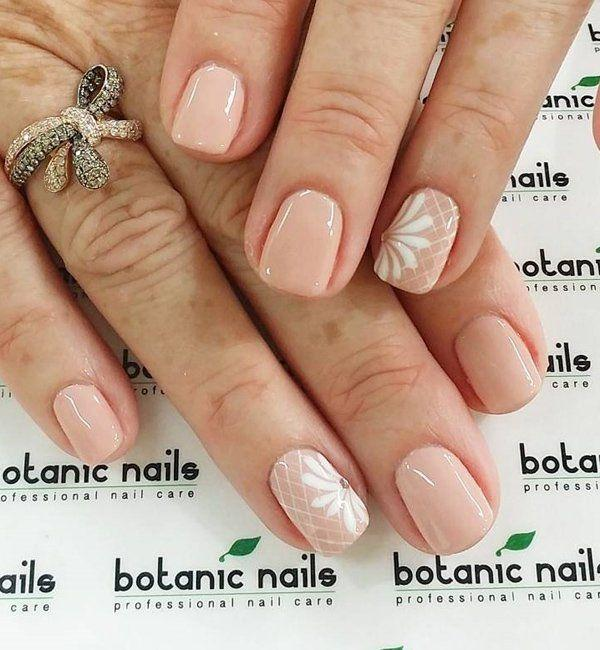 Nagel 40 Nude Color Nail Art Ideas 2474774 Weddbook