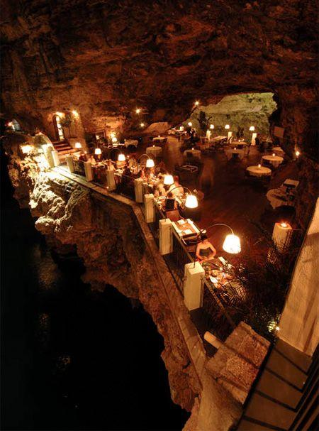 Wedding - DESIGN FETISH: Cave Restaurant
