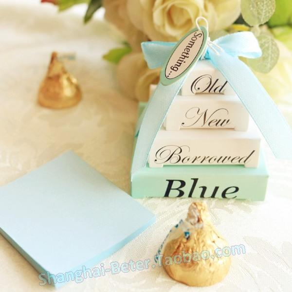 Wedding - 蒂凡尼蓝色便签纸ZH001生日庆生小礼物Tiffany blue新娘答谢礼品