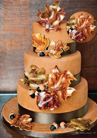 24 Fall Wedding Cakes That WOW