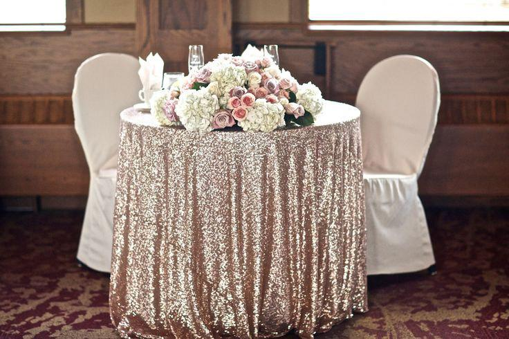 زفاف - CHOOSE YOUR SIZE! Champagne Glitz Sequin Tablecloth vintage Wedding and Events! Custom sparkle table cloths, tablecloths, runners & overlays