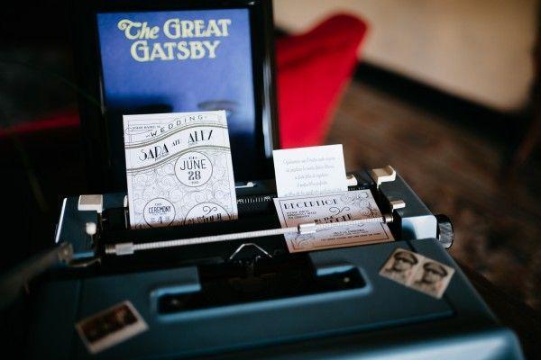 Hochzeit - You've Never Seen A Gatsby-Inspired Affair Like This Cool Verona Wedding