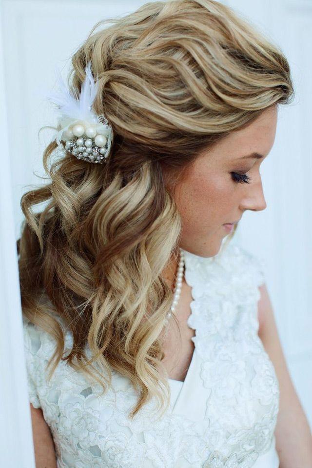 Свадьба - 15 Fabulous Half Up Half Down Wedding Hairstyles