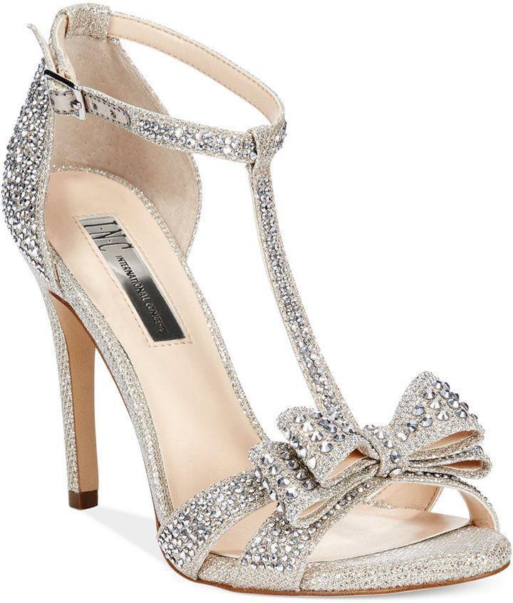 Wedding - Macy's - INC International Concepts Women's Reesie2 High Heel Evening Sandals