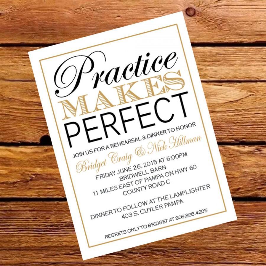 زفاف - Rehearsal Dinner Invite - Wedding - Customize PDF
