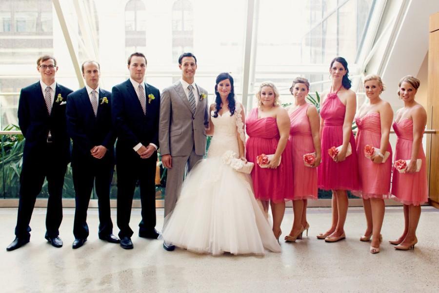 Hochzeit - Coral wedding clutches, Personalized bridesmaids gifts, Bridal clutch, Wedding gift, Silk purse, Clutch bag, Clutch purse, Peach, Blush pink