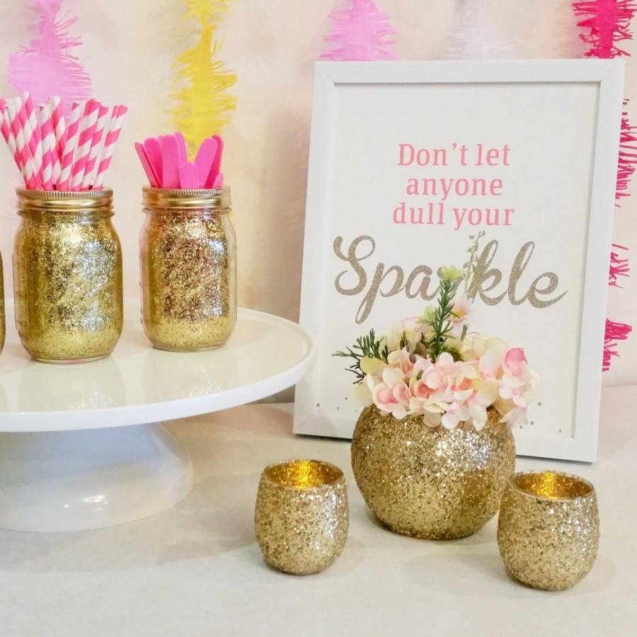 Wedding centerpieces gold wedding decor baby shower decor wedding centerpieces gold wedding decor baby shower decor graduation party decorations glitter vase gold centerpieces set of 3 reviewsmspy