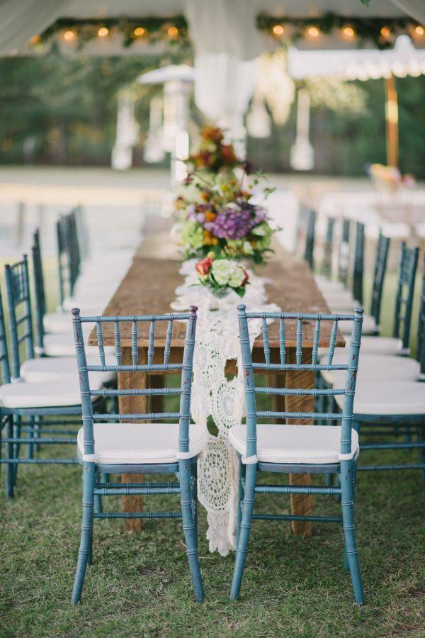 Hochzeit - Turquoise Chiavari Chairs