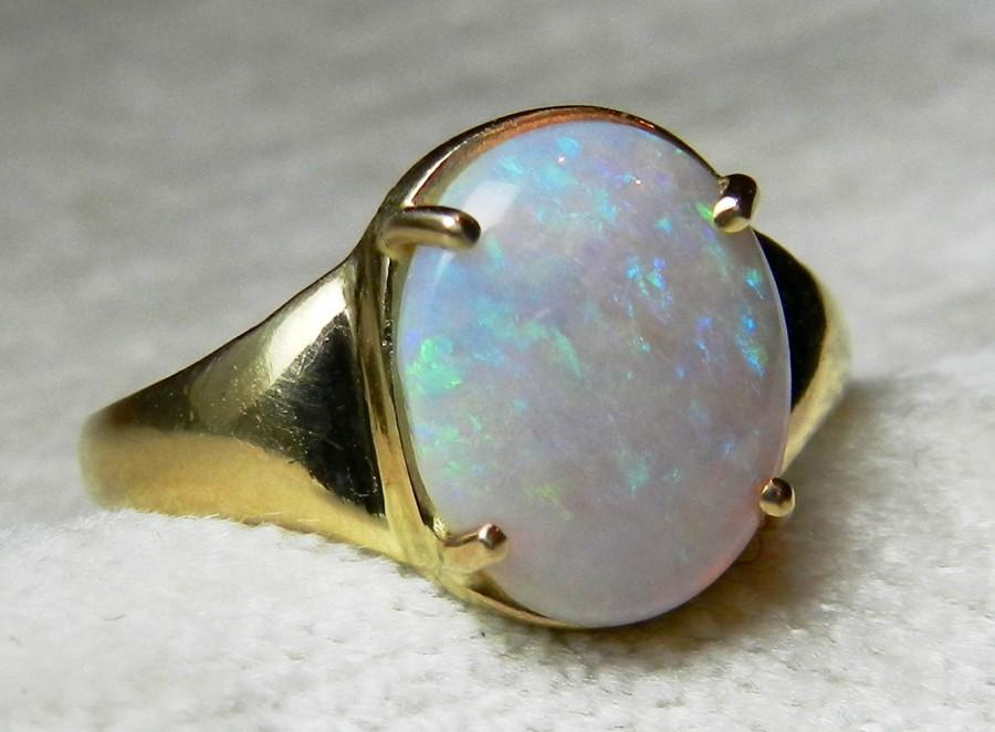 opal ring 2 10 ct opal engagement ring opal ring