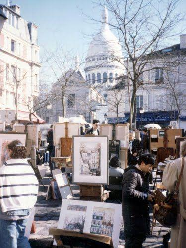 Hochzeit - Panoramio - Photo Of Paris - Artists' Quarter