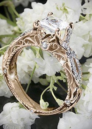 Свадьба - 12 Swoon-some Vintage Wedding Engagement Rings You Secretly Want