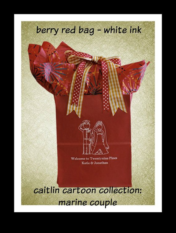 Свадьба - Wedding Welcome Bags Personalized Wedding Guest Gift Bags Welcome Bags For Weddings~ Our Sturdy Bags Hold 5  Lbs. Of Goodies