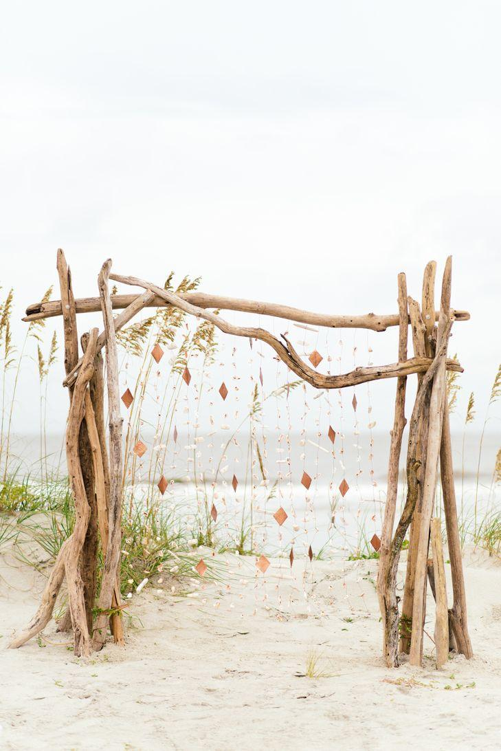 Wedding - A Romantic, DIY Beach Wedding At The Omni Hilton Head Oceanfront Resort In Hilton Head Island, South Carolina