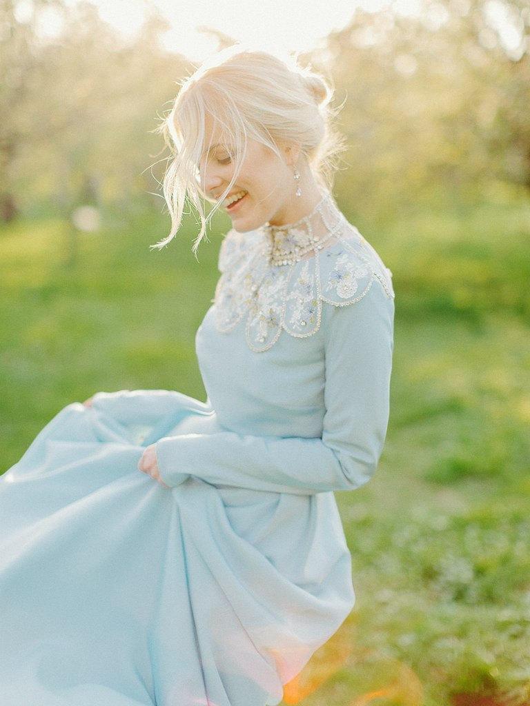 Свадьба - wedding dress with sleeves wedding dress Long sleeves Wedding dress with long sleeves bridesmaid dress unique Bohemian wedding dress