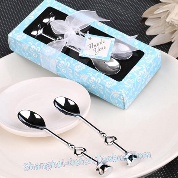 Wedding - Party Favour WJ022/C Chrome Coffee Spoons Wedding Decoration