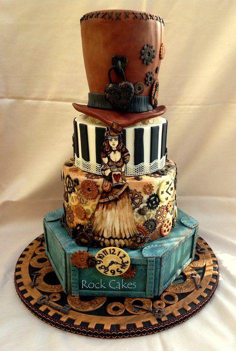Свадьба - Steampunk Wedding Cake
