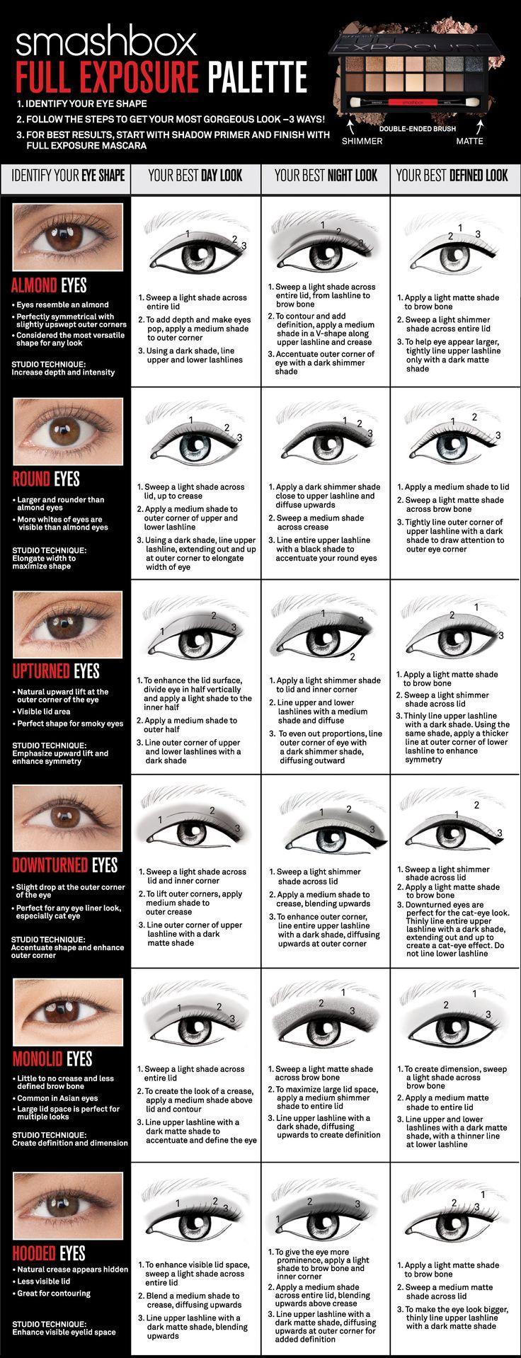 Wedding - How To Apply Makeup For Your Eye Shape -- BEAUTYGEEKS